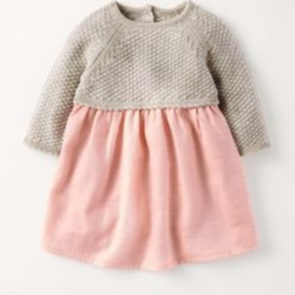 b020d43360ab1 Boden Dresses | Mini Pretty Knitted Dress Baby Girl 1218 | Poshmark